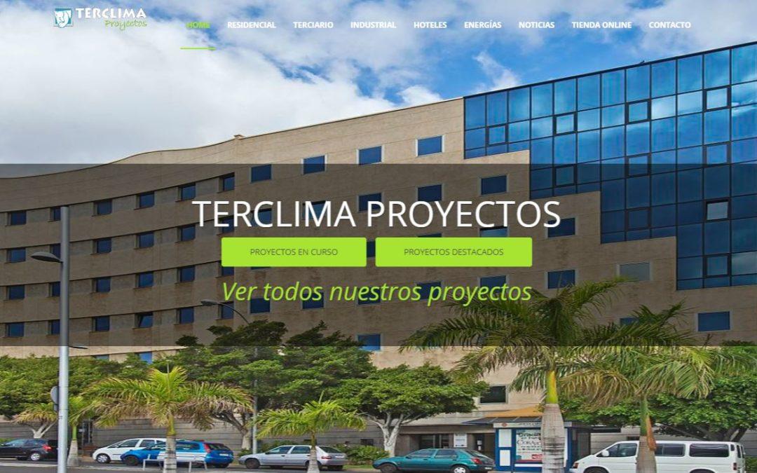 Nueva web Terclima Proyectos. Más de 30 años de experiencia