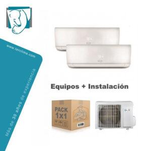 instalación aire acondicionado argo
