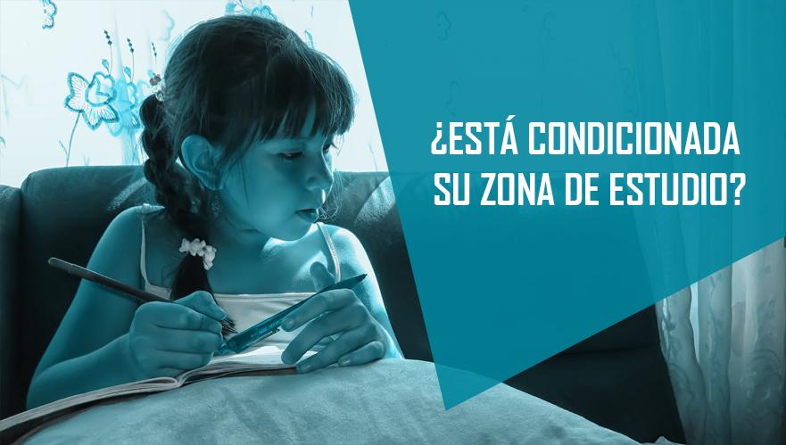 ► ACONDICIONA SU ZONA DE ESTUDIO EN LA VUELTA AL COLE